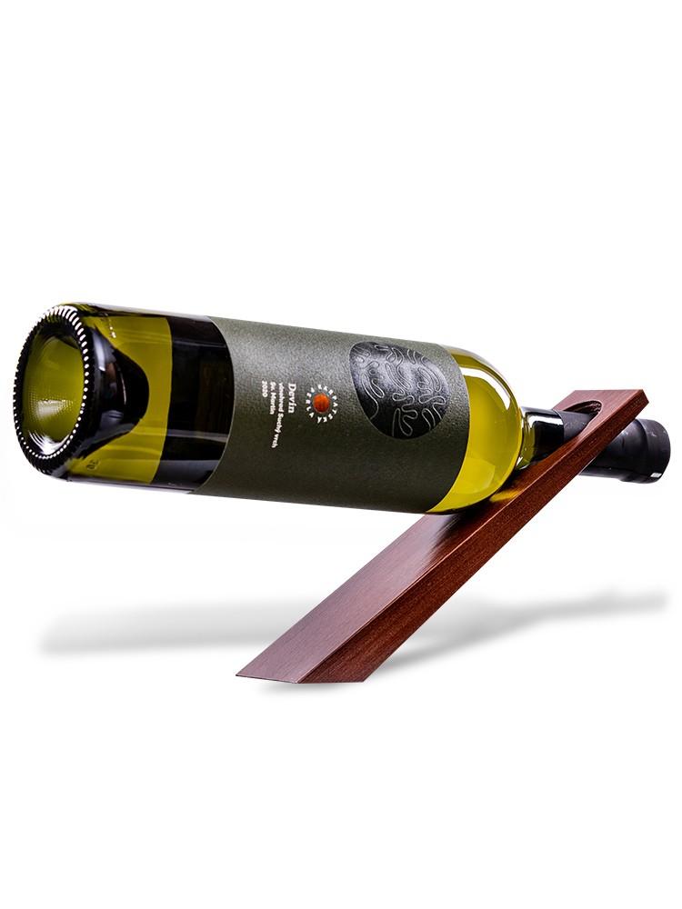 Drevený stojan na víno Palisander nelakovaný
