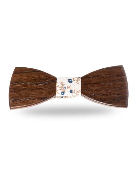 Woodenka drevený motýlik lukáš + vreckovka grátis