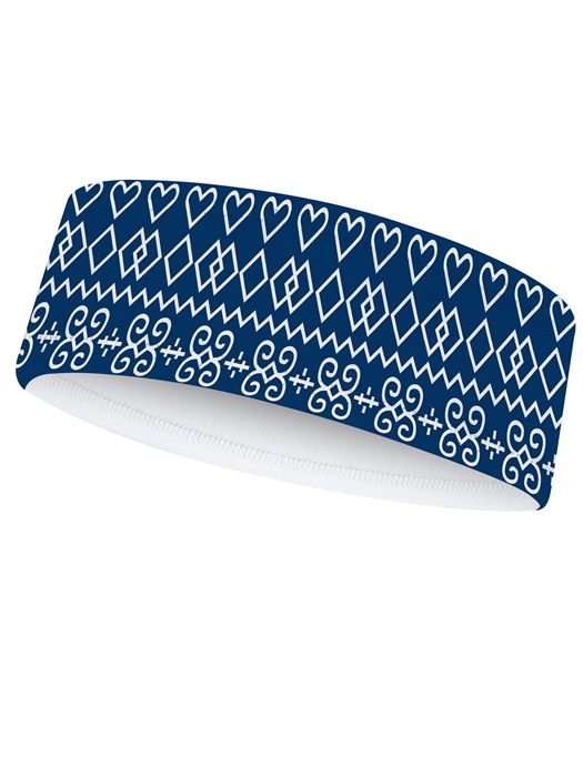 Čelenka Čičmany Modrá 7709