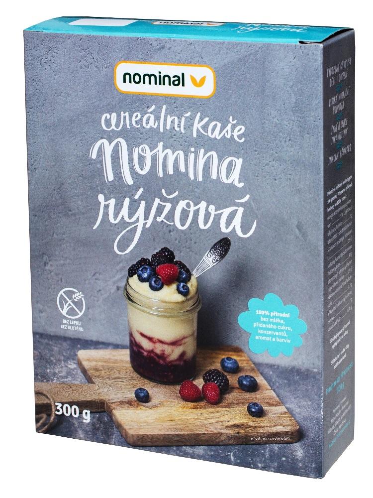 Nominal Cereálna ryžová kaša NOMINA 300g