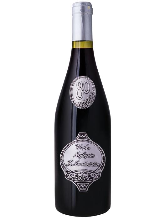 Fľaša k 80-tym narodeninám