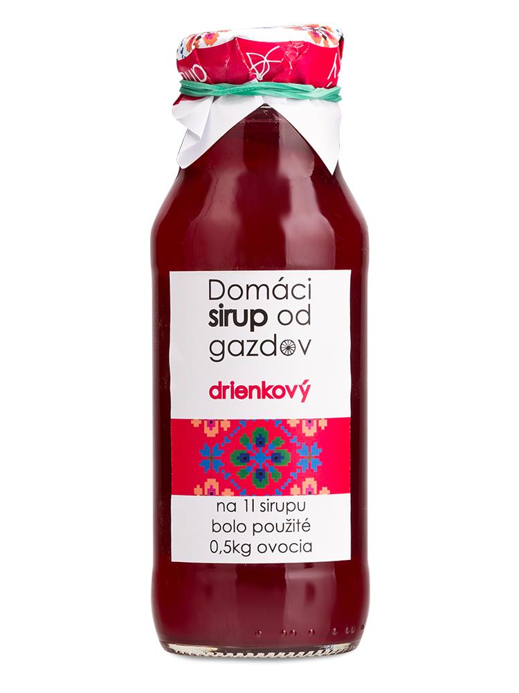 GAZDOVIA Domáci sirup drienkový 300ml
