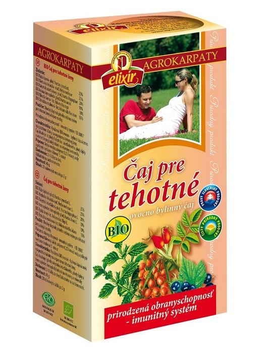 Agrokarpaty čaj pre tehotné bio 20x2g