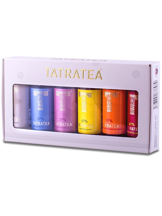 TATRATEA Set Mini II.séria 17%-67% 6x0,04l