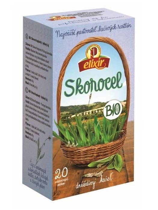 Agrokarpaty skorocel bio bylinný čaj 20x2g