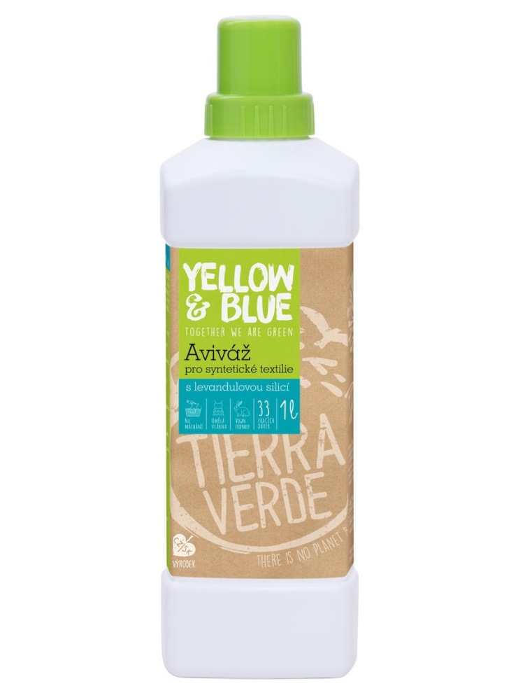 Tierra Verde aviváž s levanduľovou silicou - fľaša 1L