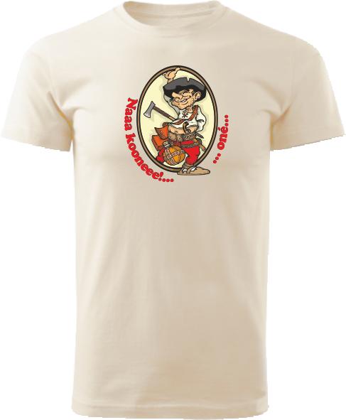 Tričko Pacho - hybský zbojník Unisex Natural