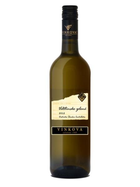 Veltlínske zelené Vinkova 0,75l