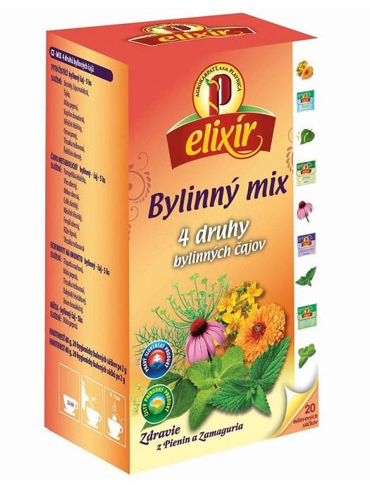 Agrokarpaty elixír bylinný mix čaj 20x2g