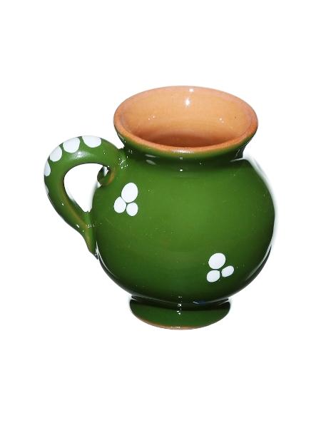 Džbánok malý zelený 0,04l