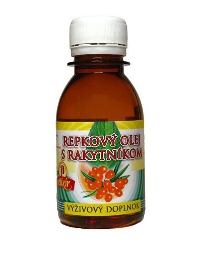 Repkový olej s rakytníkom 0,1l