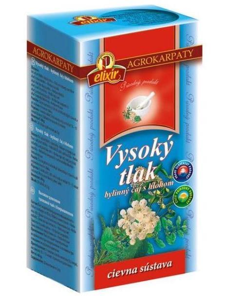 Agrokarpaty vysoký tlak bylinný čaj s hlohom 20x2g