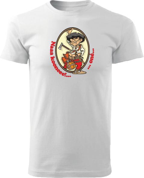Tričko Pacho - hybský zbojník Unisex Biele