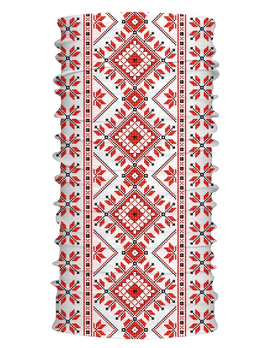 Multifunkčný šál ľudový vzor 7133
