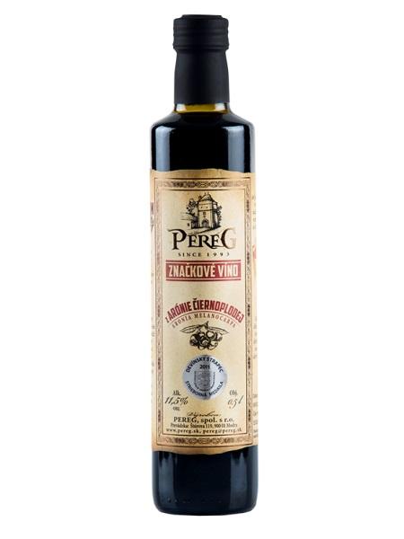 Arónia čierna - liečivé víno Pereg 0,5l
