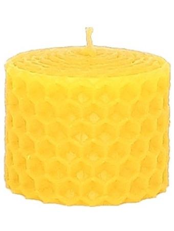 Sviečka včelí vosk žltá 33mm/40mm