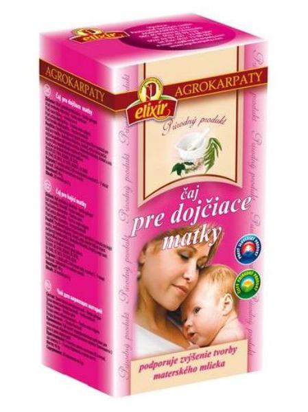 Agrokarpaty čaj pre dojčiace matky 20x2g