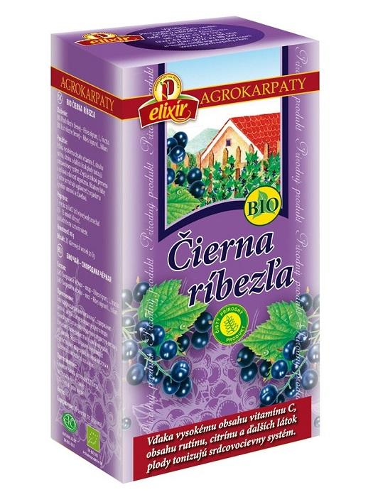 Agrokarpaty ríbezľa čierna bio bylinný čaj 20x2g
