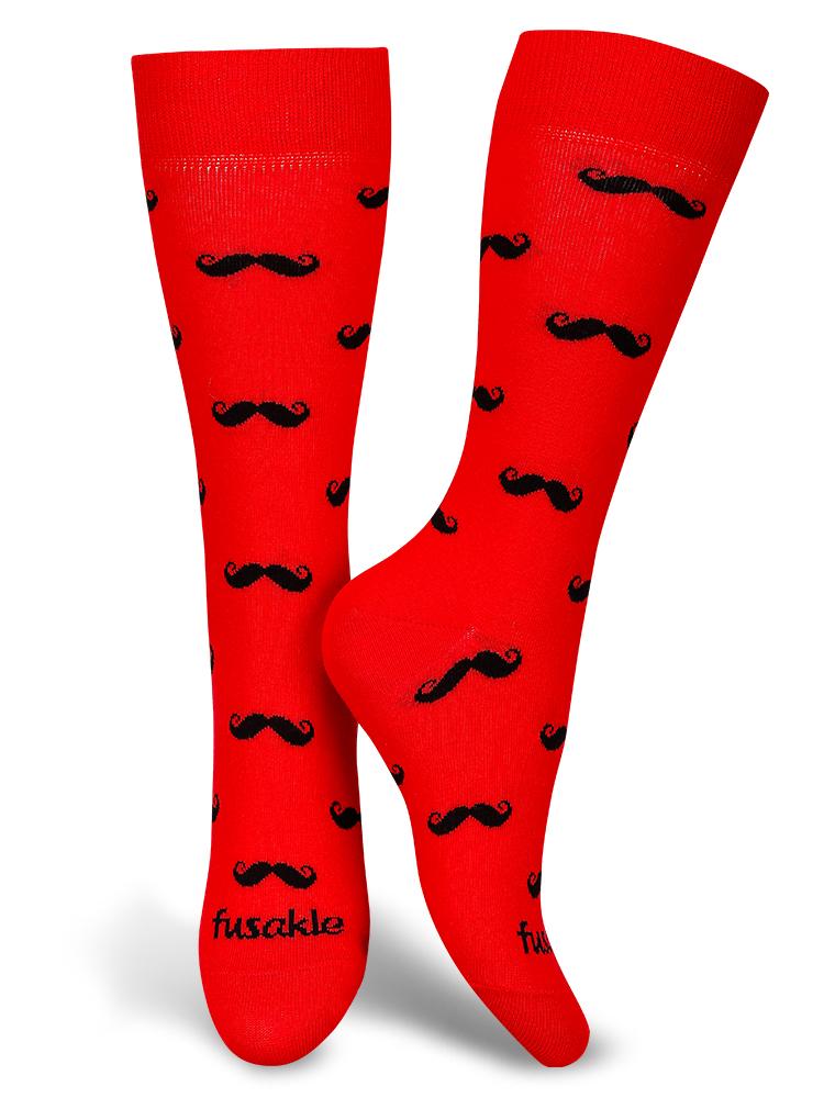 Fusakle ponožky Fúzač krvavý