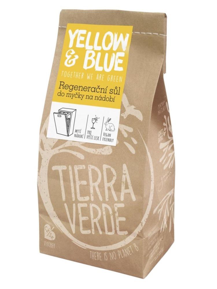 Tierra Verde regeneračná soľ do umývačky riadu - vrecko 2kg