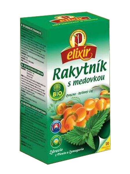 Agrokarpaty rakytník s medovkou bio bylinný čaj 20x1,5g