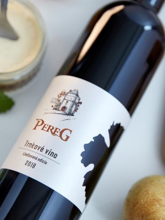 Trnkové víno Pereg 0,75l