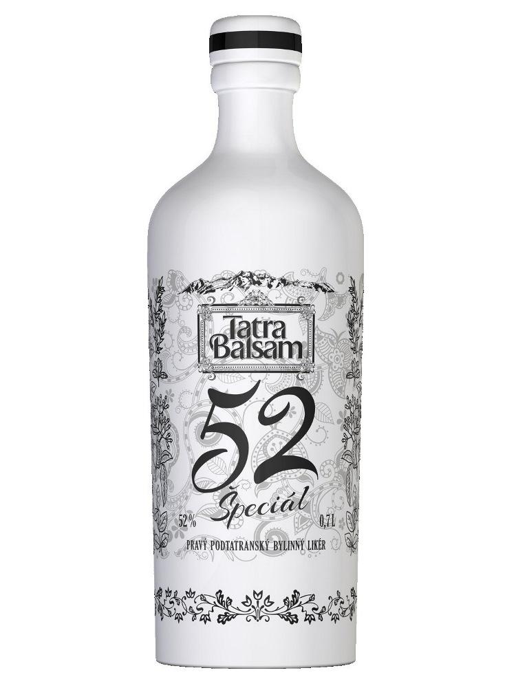 Tatra balsam ŠPECIÁL keramika 52% 0,7L + 2 poháriky
