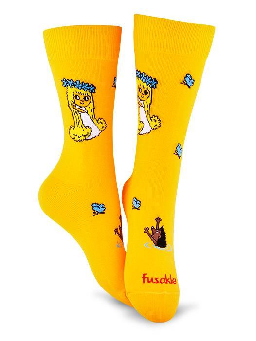Fusakle ponožky Víla Amálka