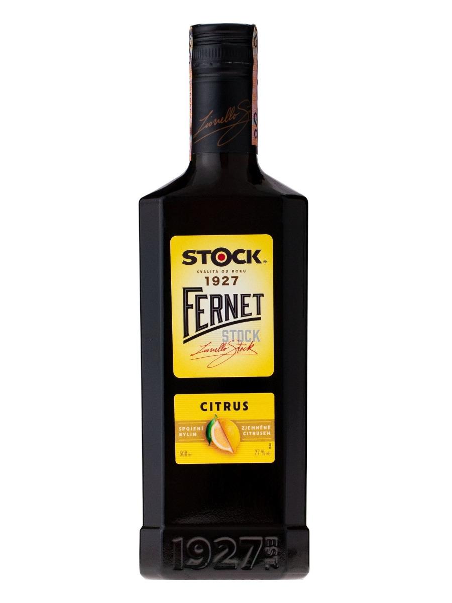 Fernet Stock citrus 27% 0,5L