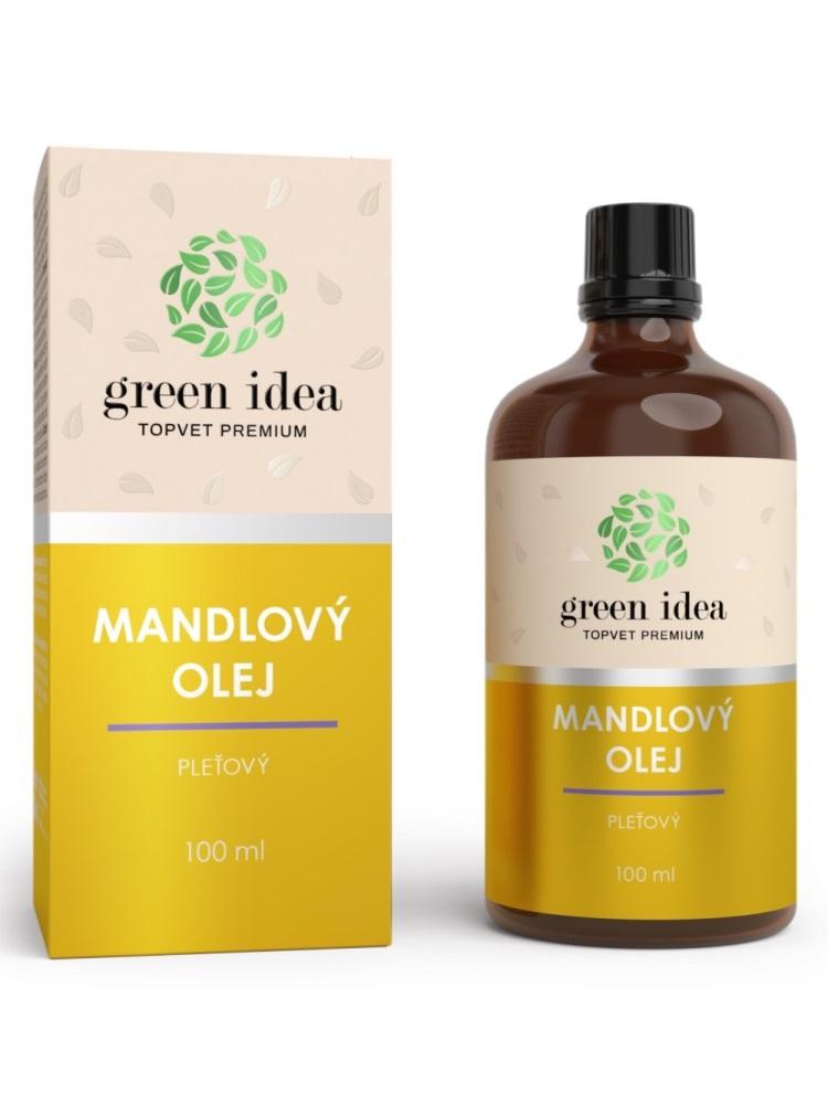 Topvet Mandľový pleťový olej 100% s Vitamínom E 100ml