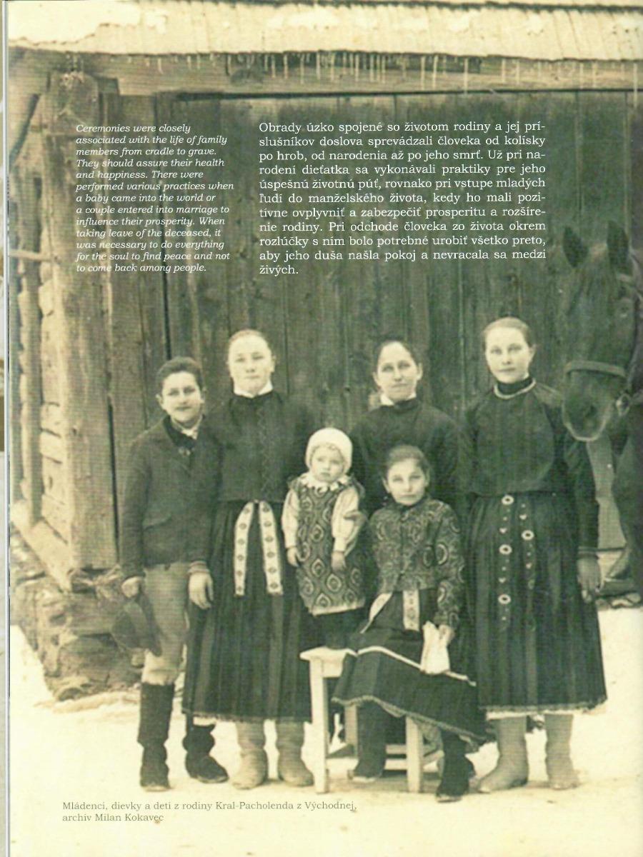 Liptov Rodinné a kalendárne obyčaje