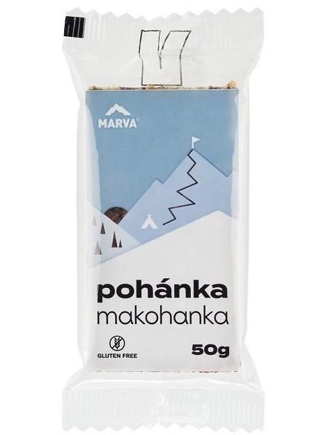 Marva Makohanka Pohánková tyčinka s makom 50g