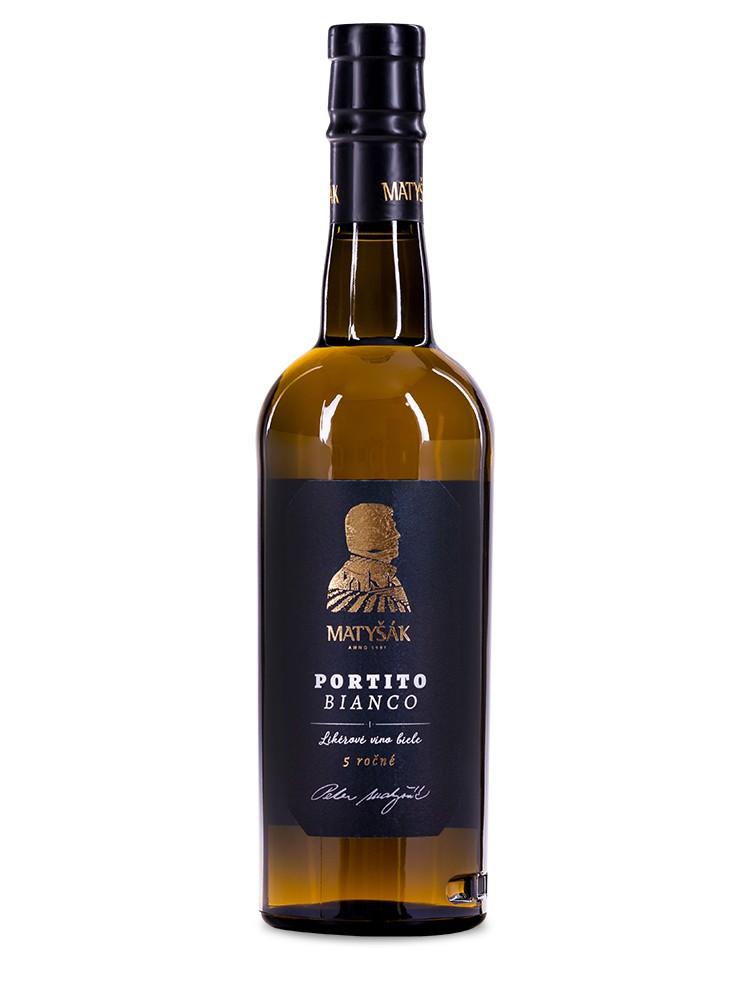 Matyšák Portito Bianco 5 ročné 0,5l