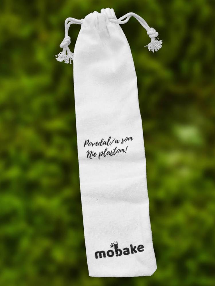 Mobake Bavlnené vrecko na slamky