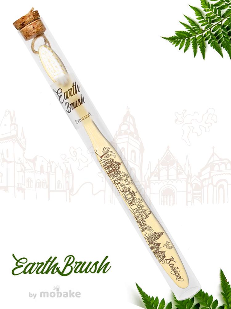 Mobake EarthBrush Košice - bambusová zubná kefka ako suvenír 3010 Extra soft