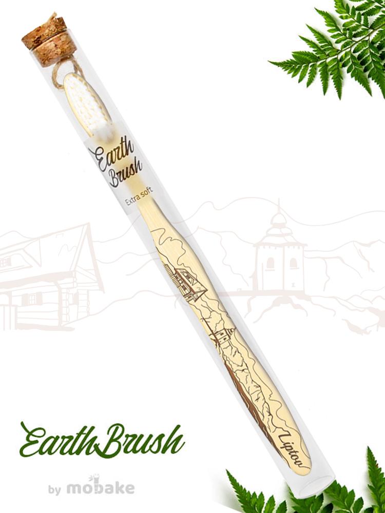 Mobake EarthBrush Liptov - bambusová zubná kefka ako suvenír 3010 Extra soft