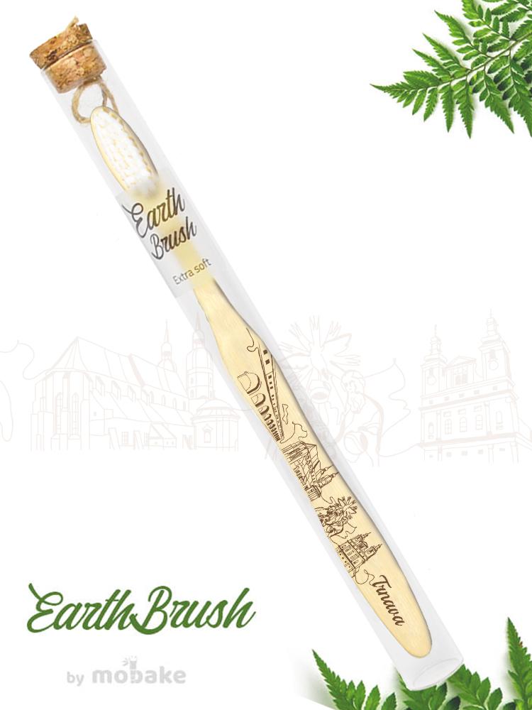 Mobake EarthBrush Trnava - bambusová zubná kefka ako suvenír 3010 Extra soft