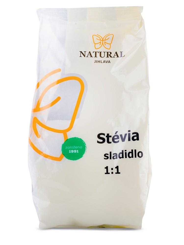 Natural Jihlava Stévia sladidlo 1:1 400g