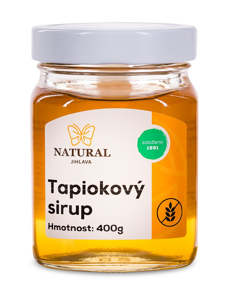 Natural Jihlava Tapiokový sirup 400g