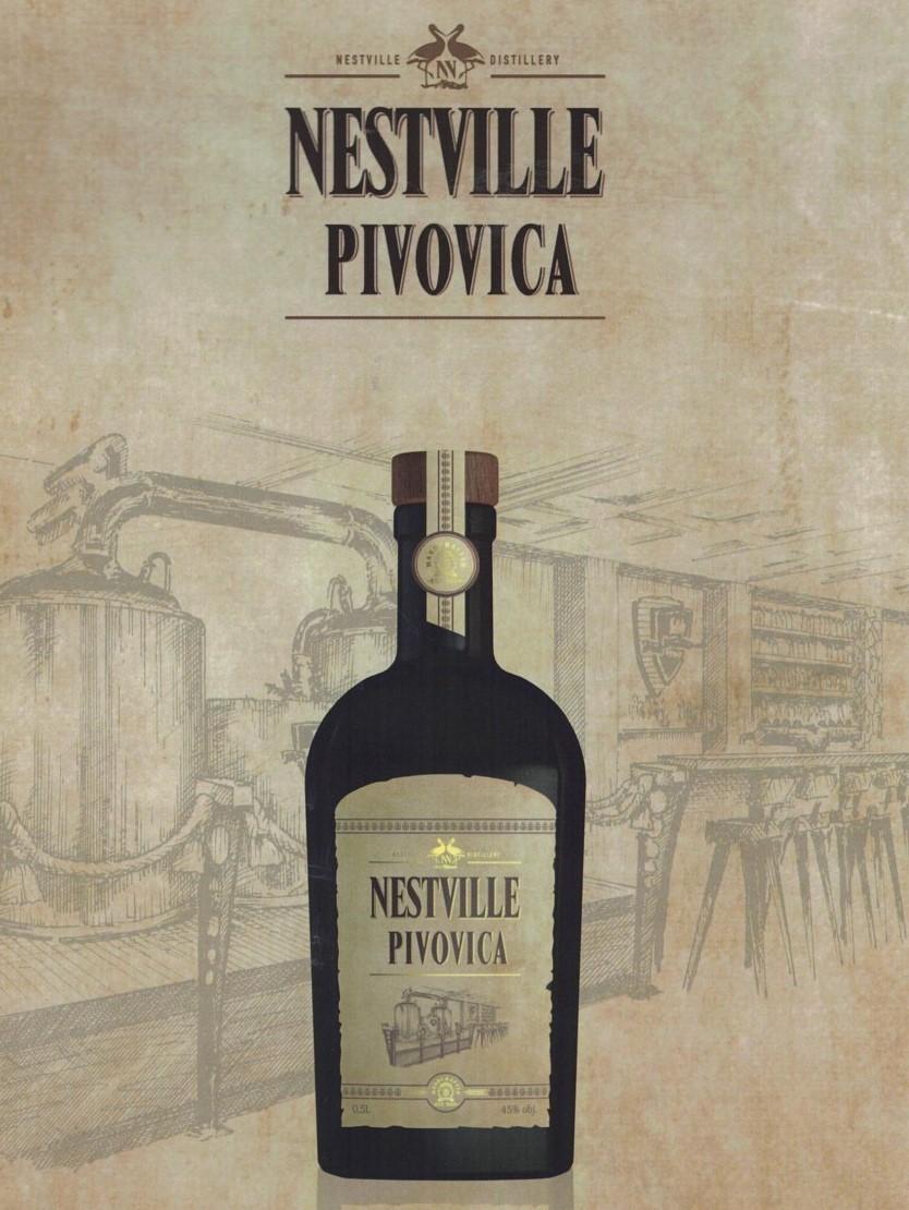 Nestville Pivovica destilát 45% 0,5l