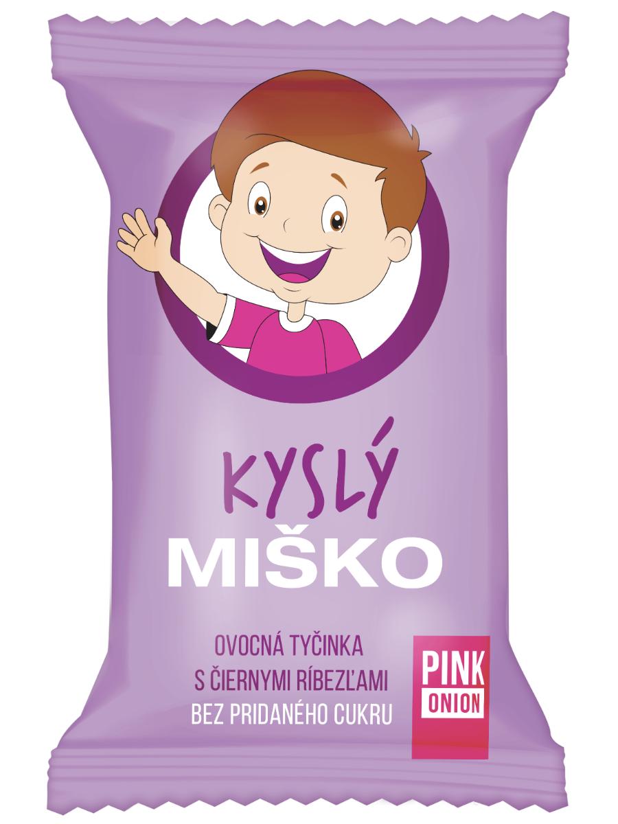 Pink Onion Kyslý Miško - ovocná tyčinka 20g