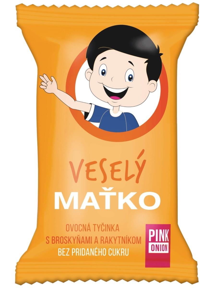 Pink Onion Veselý Maťko - ovocná tyčinka 20g