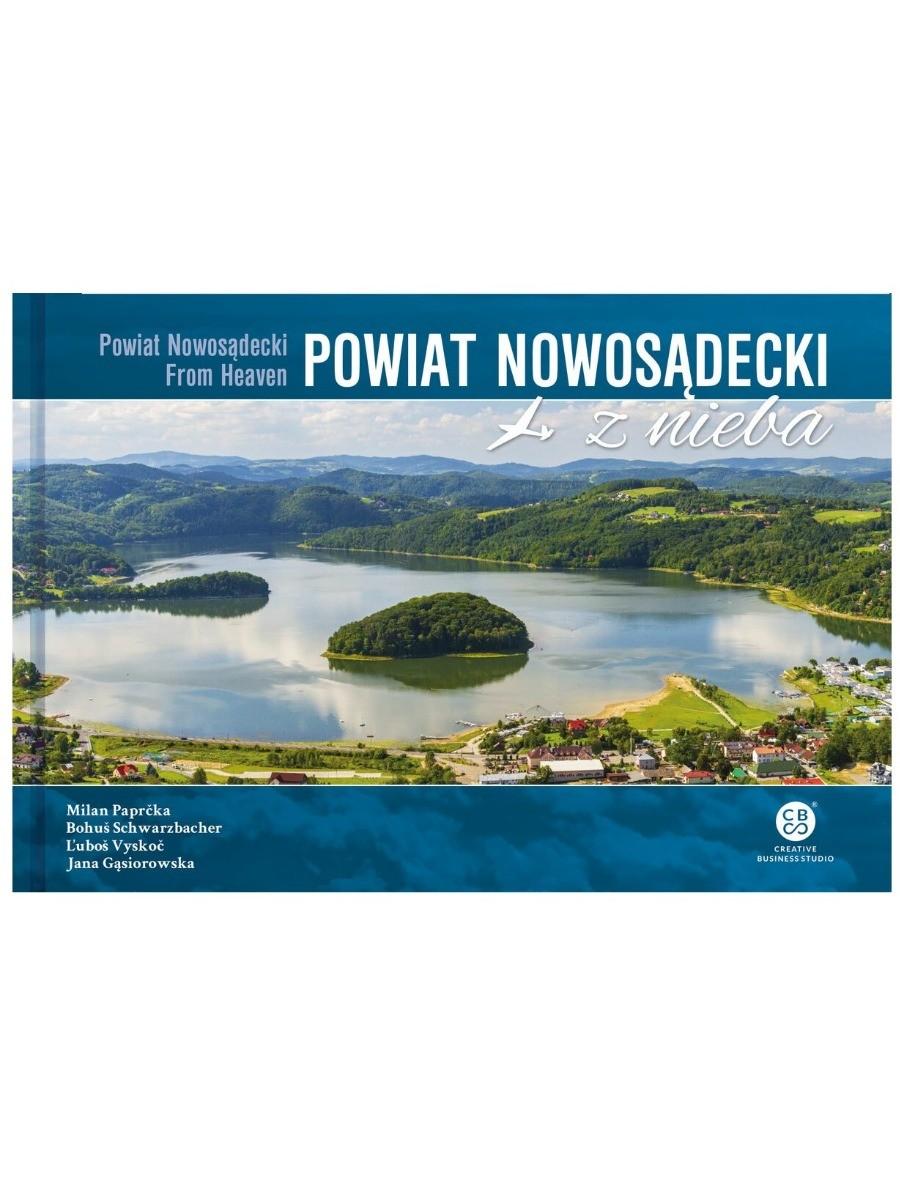 Powiat Nowosadecki z neba