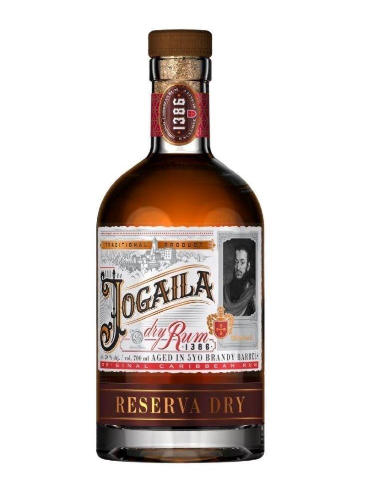 Rum Jogaila Reserva Dry 38% 0,7L