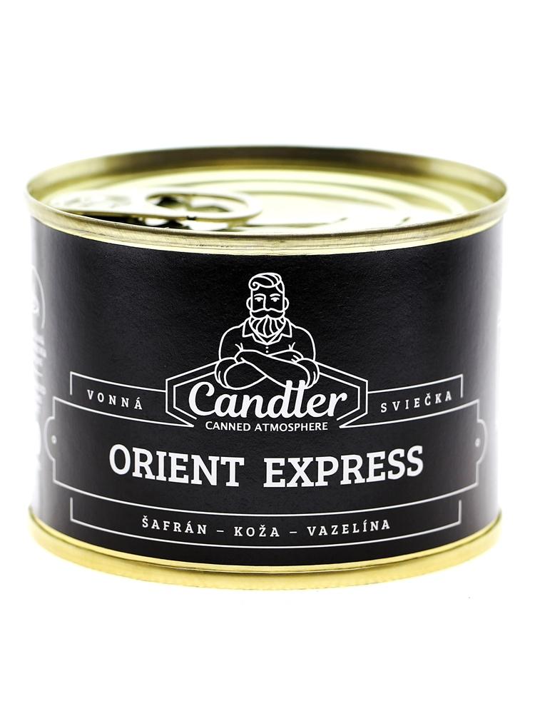 Candler Sójová sviečka Orient expres 140g