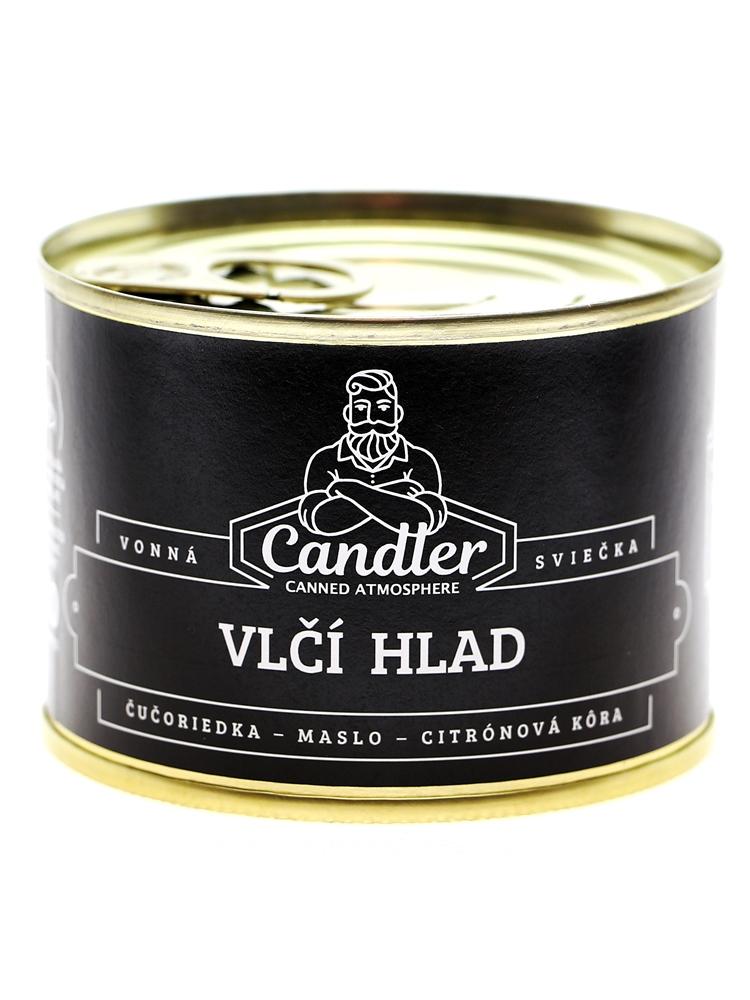 Candler Sójová sviečka Vlčí hlad 140g