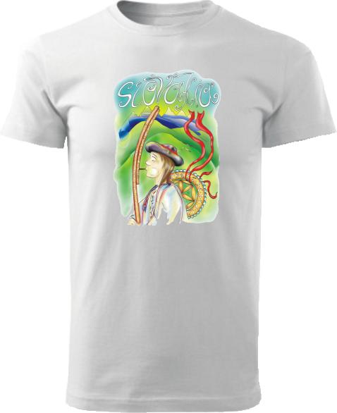 Tričko valach Unisex Biele