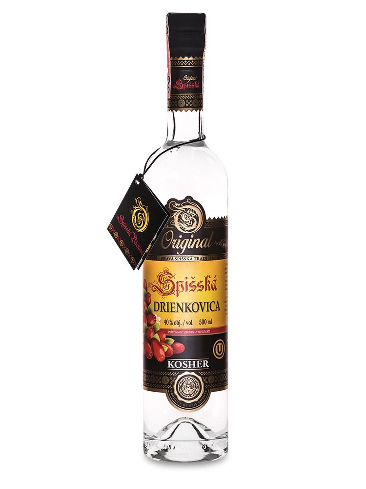 Spišská drienkovica 40% KOSHER 0,5L