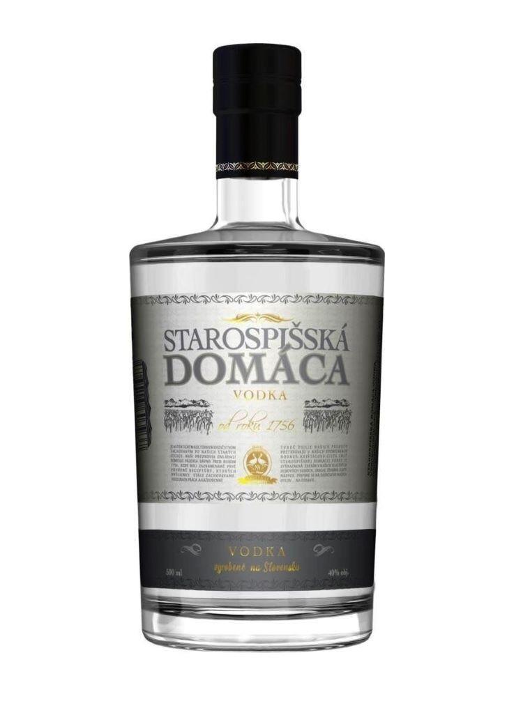 Starospišská domáca Vodka 40% 0,5l