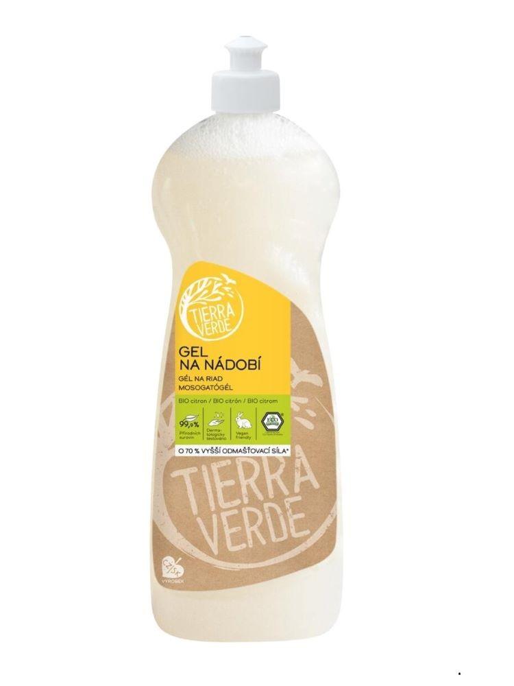 Tierra Verde gél na riad BIO citrón 1L